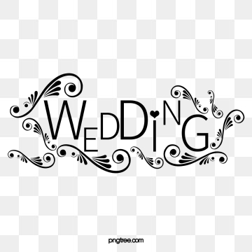 Wedding Titles Png, Vector, PSD, and Clipart With Transparent.