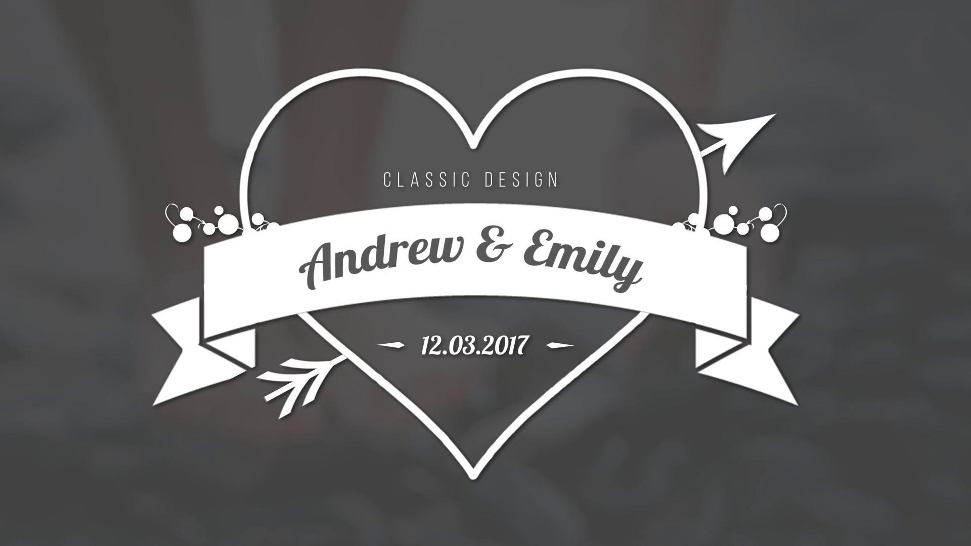 Wedding Titles Design.