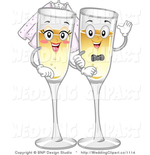 2211 Champagne free clipart.