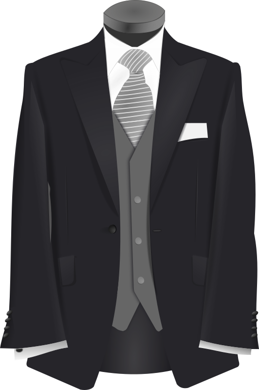 Suit clipart wedding tux, Suit wedding tux Transparent FREE.