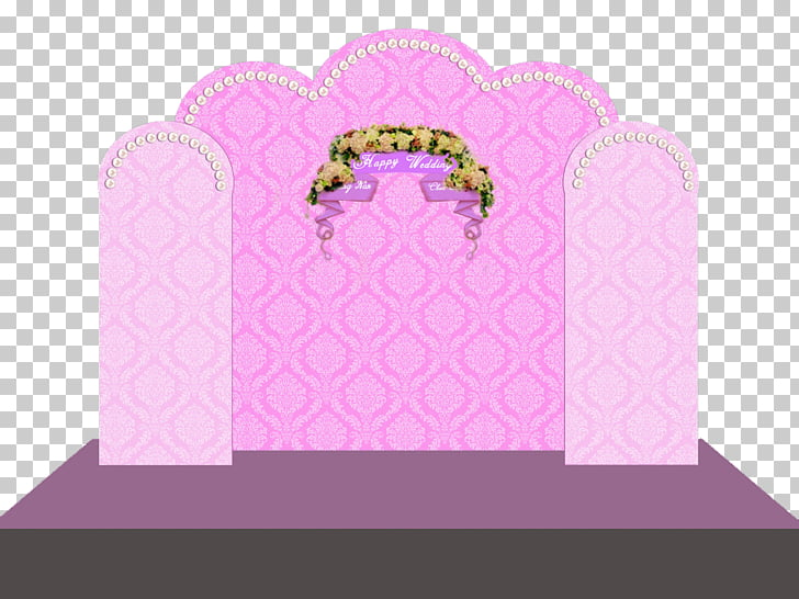 Wedding reception Pink, Wedding Venues PNG clipart.