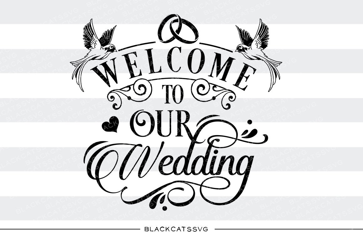 Wedding Welcome Clipart.