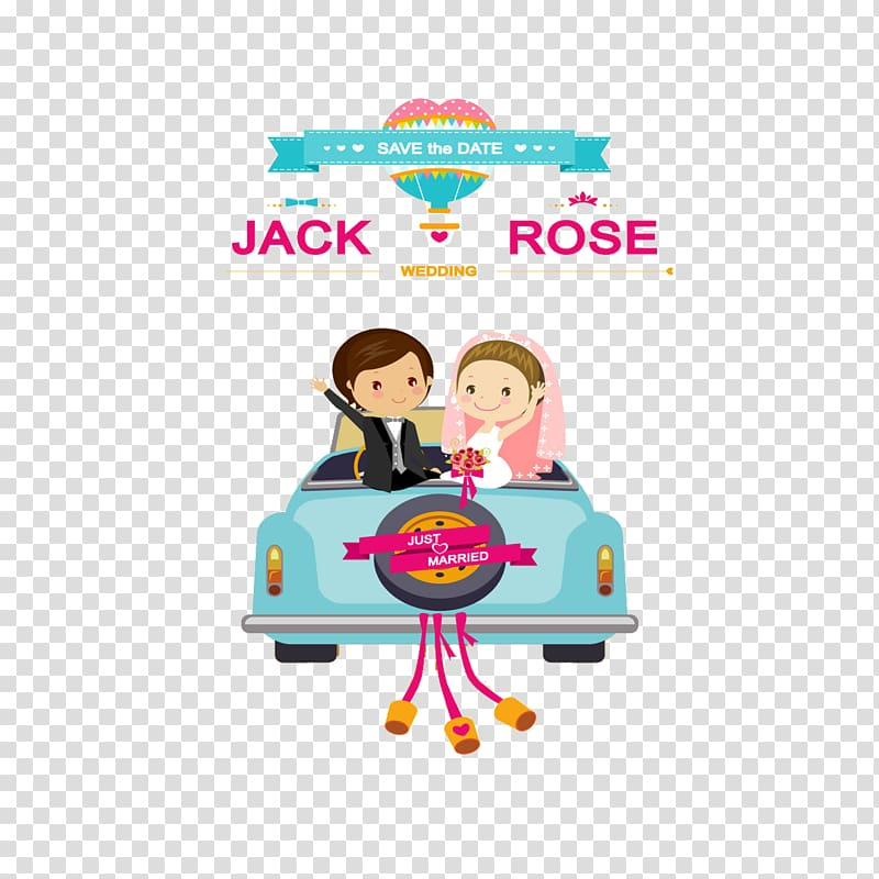 Jack and Rose wedding , Wedding invitation Convite Bride.