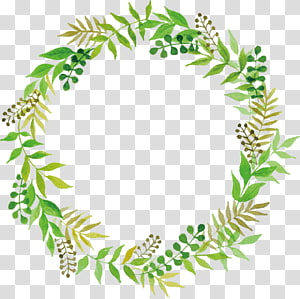 Green Wedding transparent background PNG cliparts free.