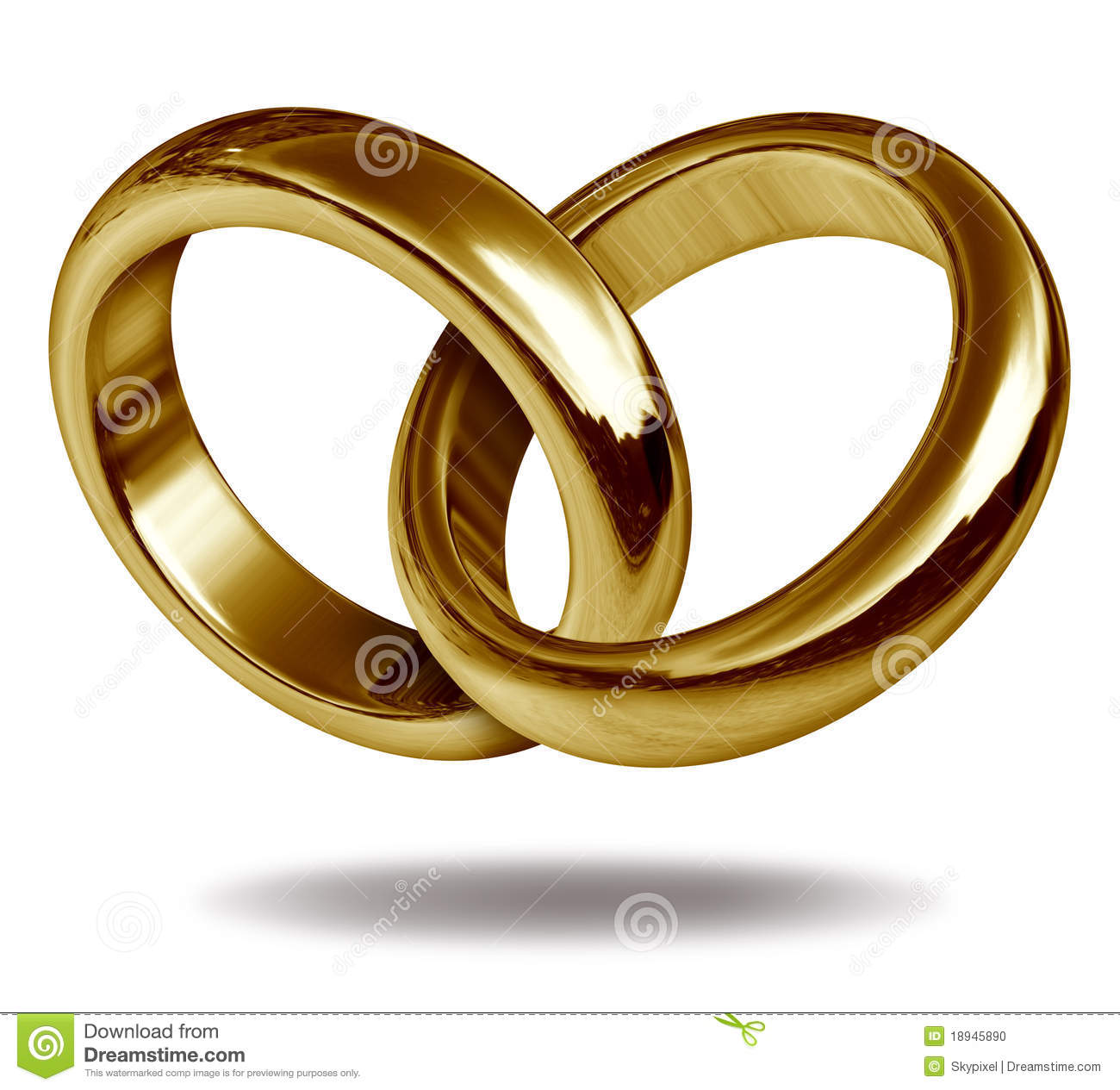 Interlocking Wedding Bands Png & Free Interlocking Wedding.