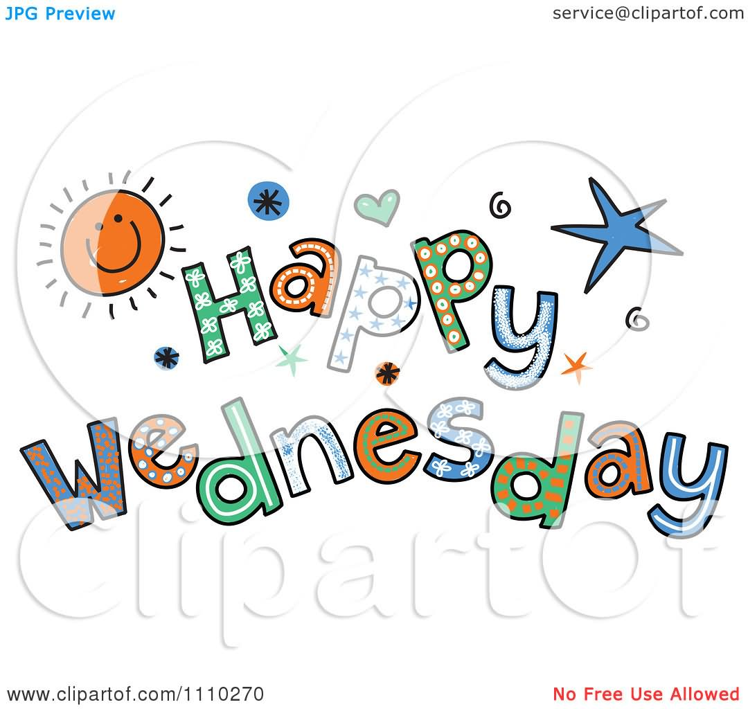 87+ Happy Wednesday Clipart.