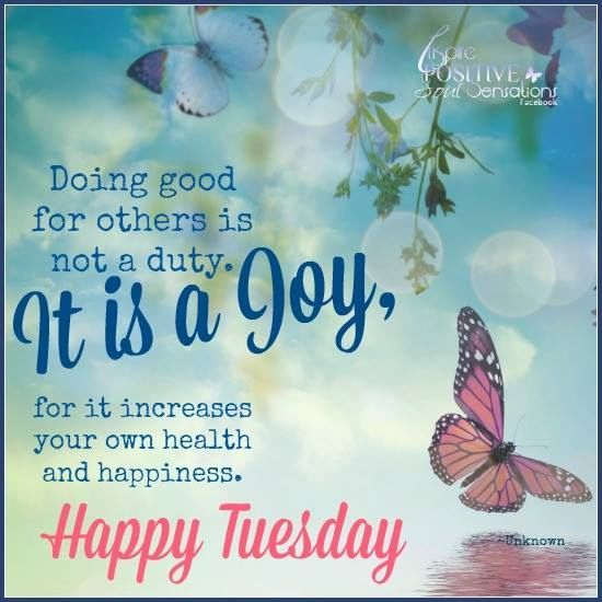Top Happy Tuesday quotes.