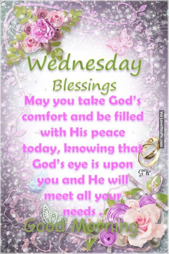 clip art wednesday blessings flowers.