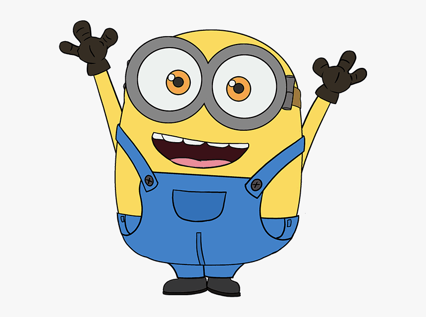 How To Draw Bob The Minion Easy Step By Step Drawing.