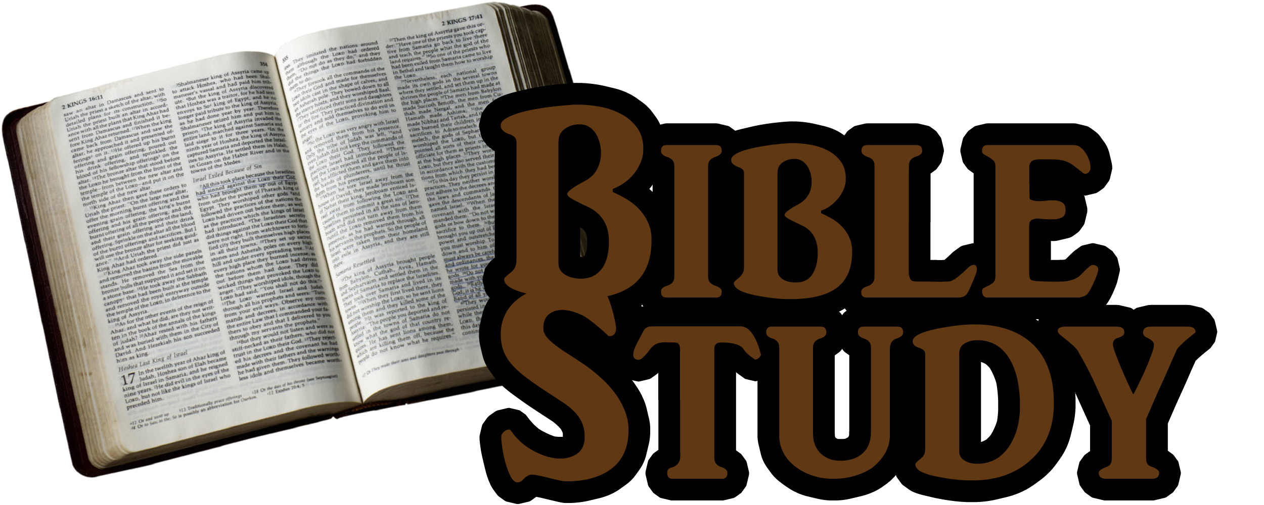 Bible Study Clipart Images.