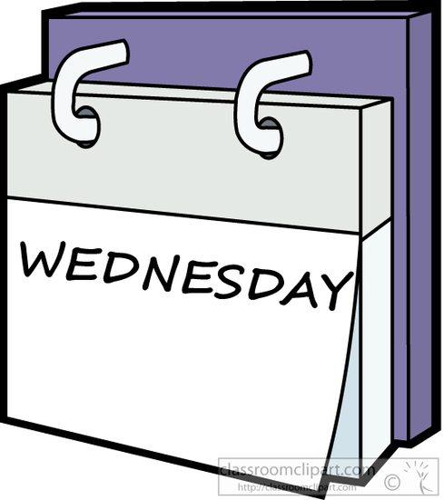 Tuesday Calendar Clipart.