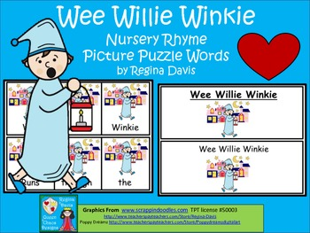 Wee Willie Winkie Nursery Rhyme Worksheets & Teaching.