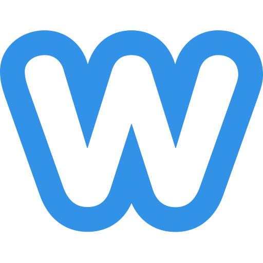 Weebly Logo Icon of Flat style.