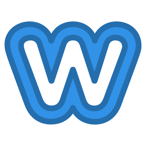 Weebly icon.