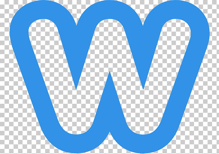 Weebly Logo, blue W letter PNG clipart.