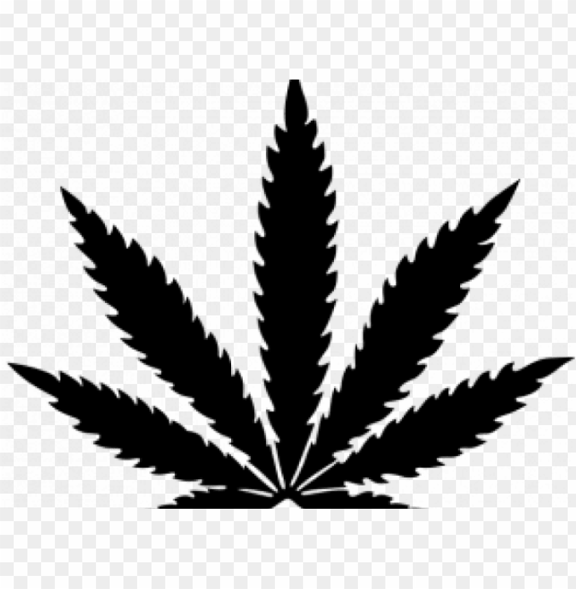 cannabis clipart black and white.