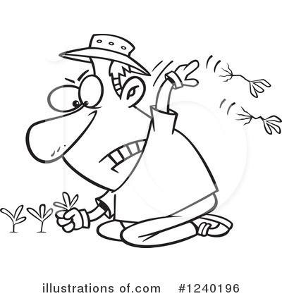 Weed Control Clipart.