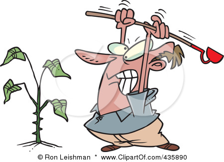 Weed Control Clip Art.