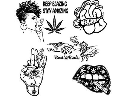 Amazon.com: Yetta Quiller Bundle of 5 Designs Blunt Weed.