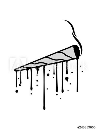 stempel graffiti tropfen joint clipart logo hanf weed.