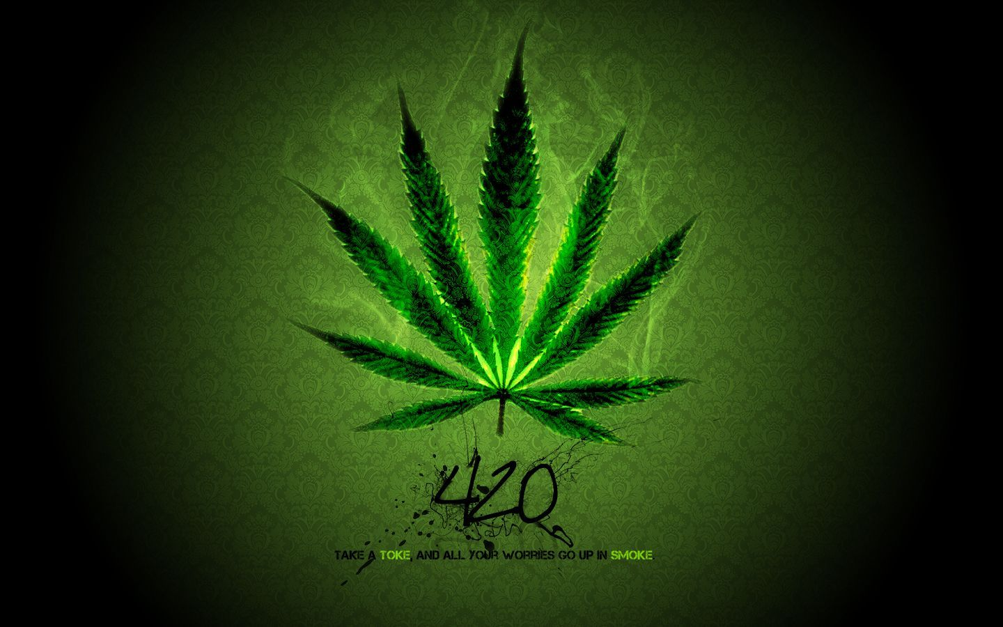 Smoke Dope Weed Wallpapers.