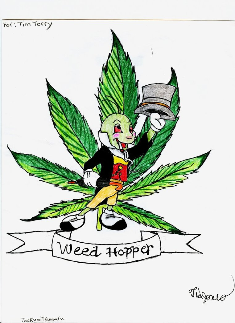Weed Plant Tattoo Designs Drawings free image.