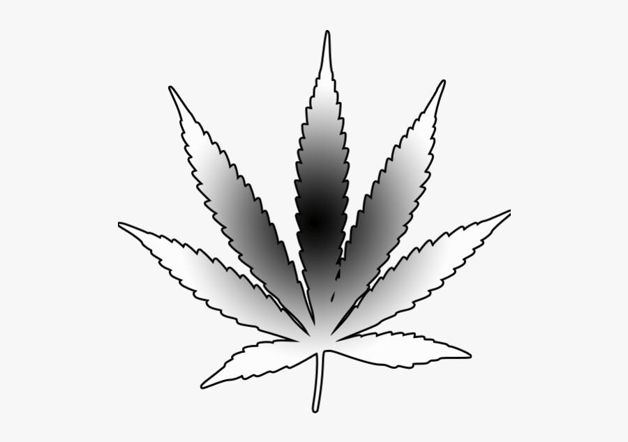 Weed Clipart Leaf Outline.