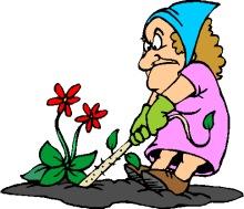 Garden Weed Clipart.