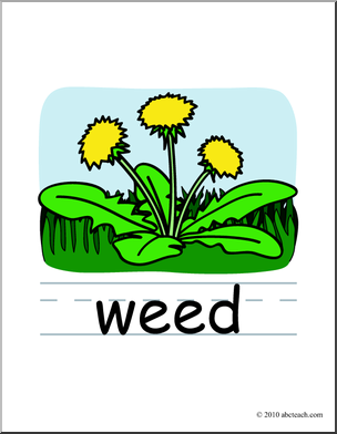 Weed clip art.