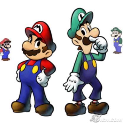 Mario Luigi Weegee and Malleo.