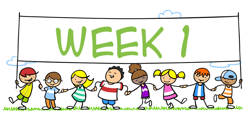 Week 1 clipart clipart images gallery for free download.