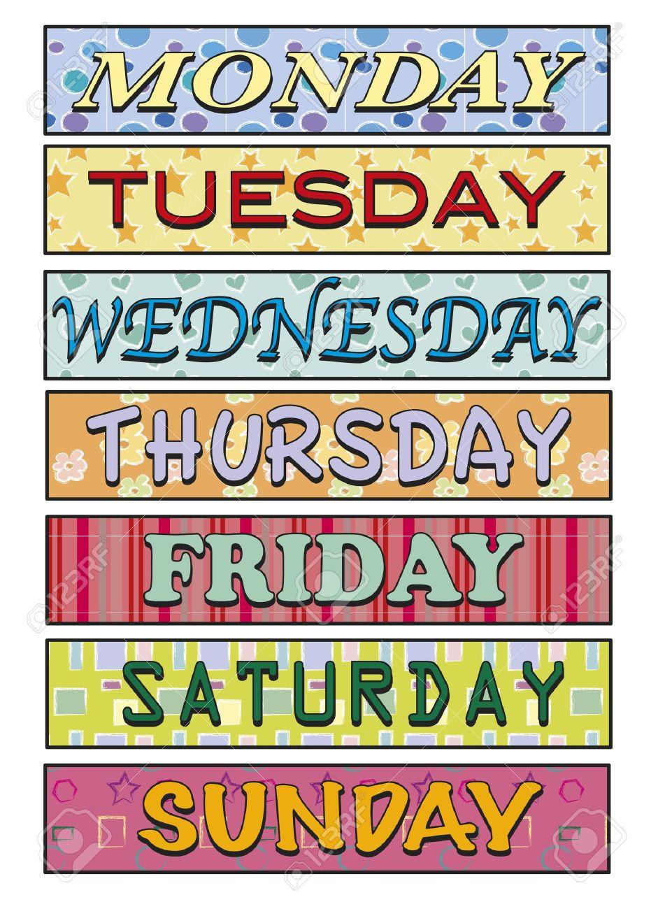 Week Clipart.