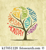 Days week Clip Art and Illustration. 17,376 days week clipart.