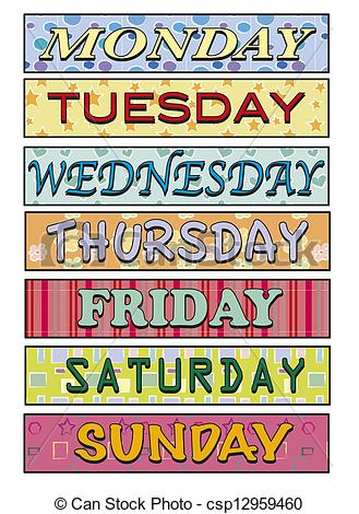 This Week Clipart.