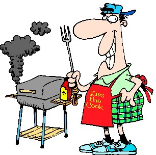 Free Clipart ? BBQ Page 1: for Labor Day Weekend barbecue.