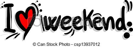 Weekend clipart free.