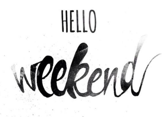 Weekend png 4 » PNG Image.
