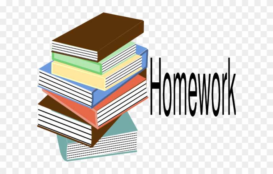 Homework Clipart Transparent.