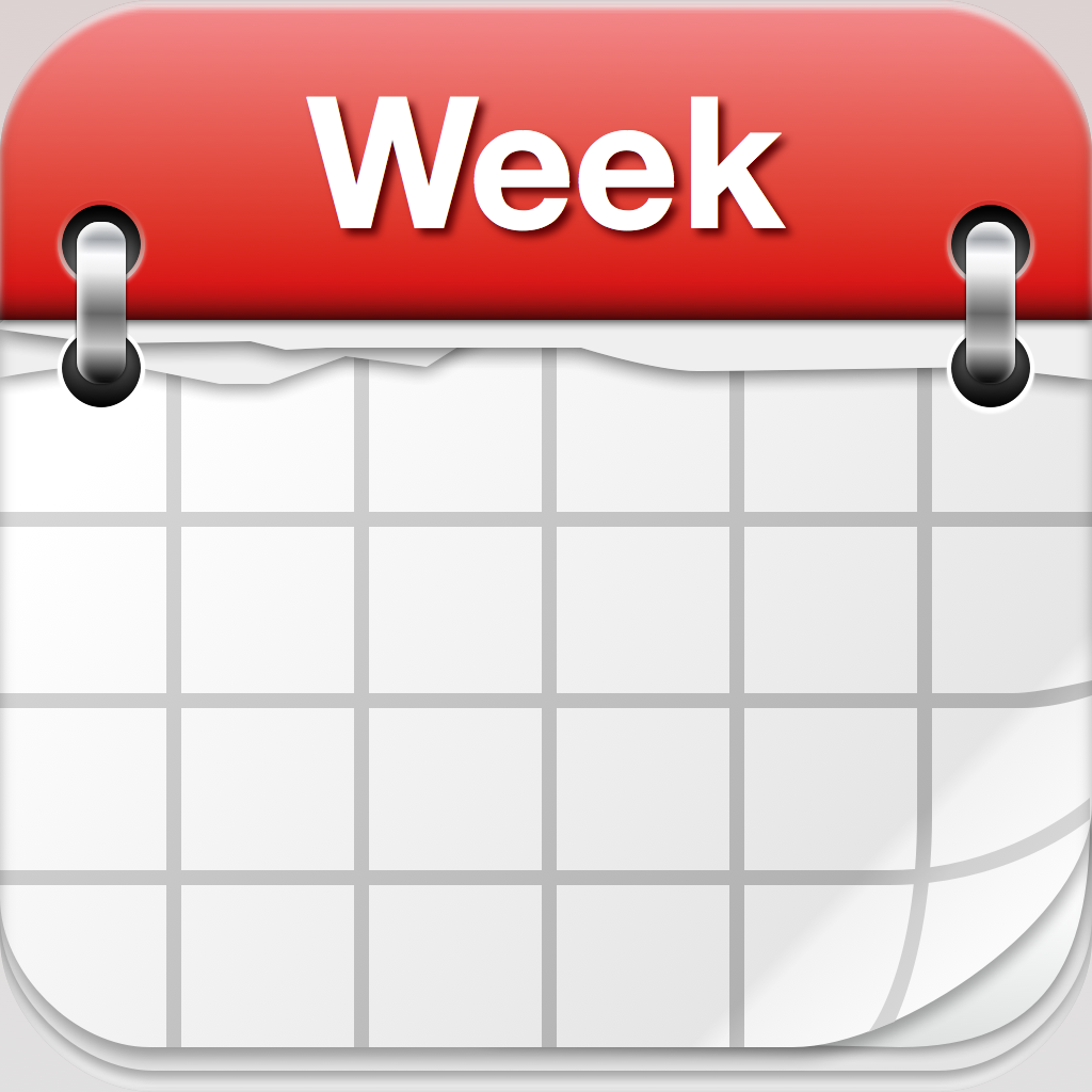 weekly calendar clipart clipground
