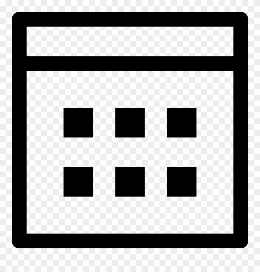 Weekly Calendar Svg Png Icon Free Download.