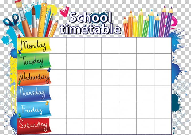 School timetable Teacher Student Class Schedule, teacher PNG.
