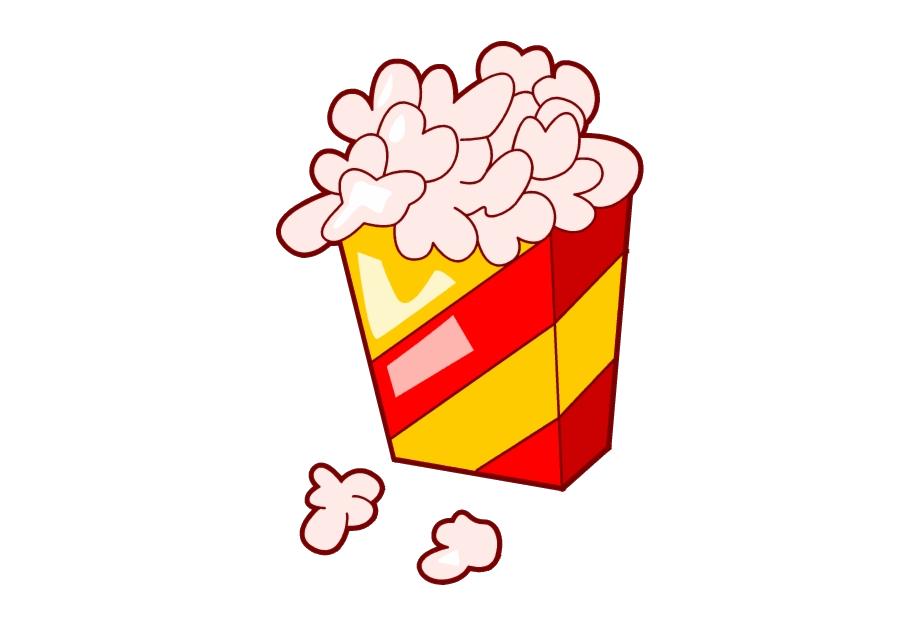 Popcorn Movie Clipart No Background Clip Art Free.
