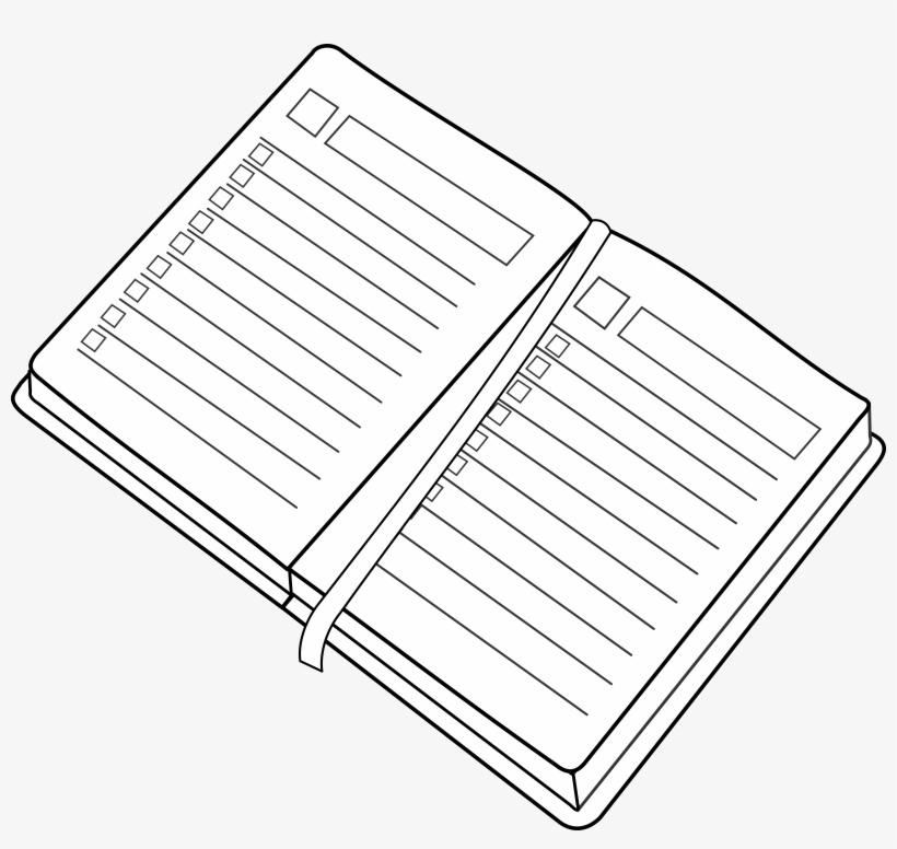 Agenda / Planner Clipart Png Transparent PNG.