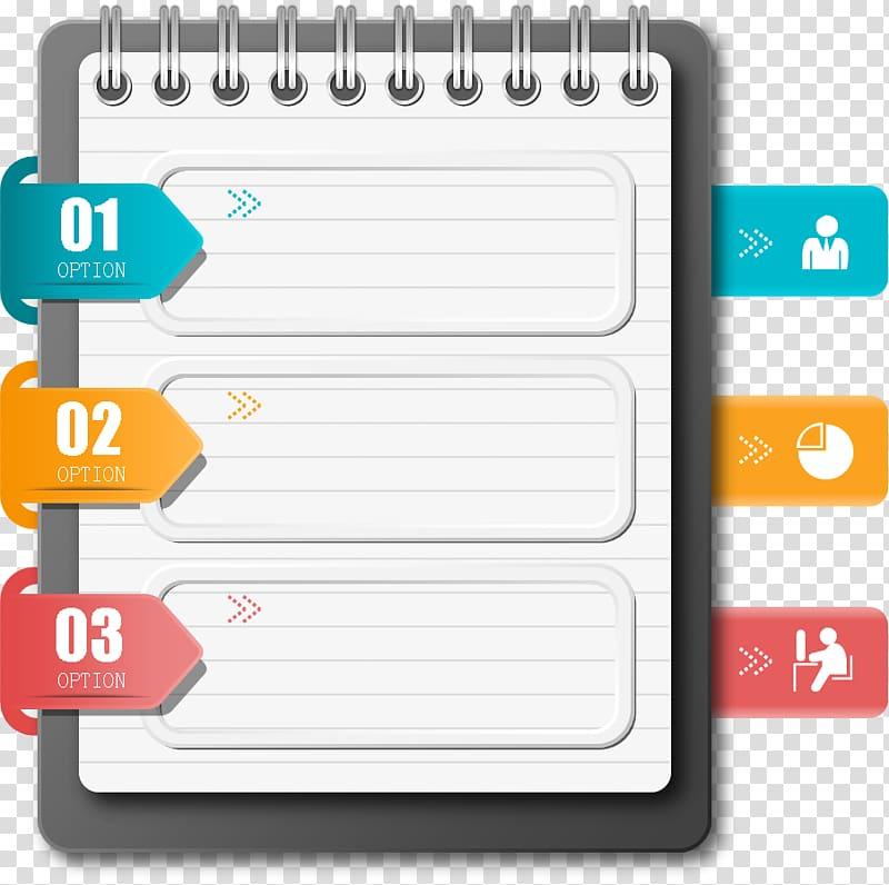 Planner , Paper Laptop, notebook transparent background PNG.