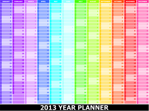 Schedule weekly planner clipart free vector download (3,367.