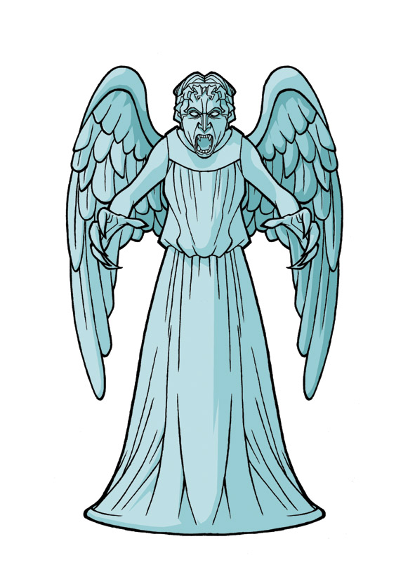 Free Weeping Angel Cliparts, Download Free Clip Art, Free.