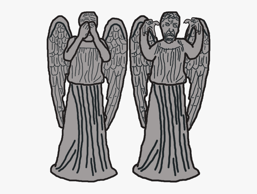 Clipart Weeping Angels , Free Transparent Clipart.