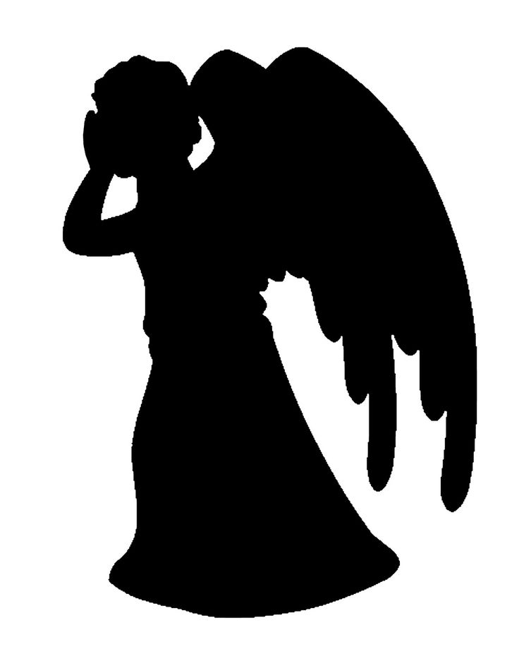 Weeping angel clipart.