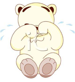 Weeping Teddy Bear.