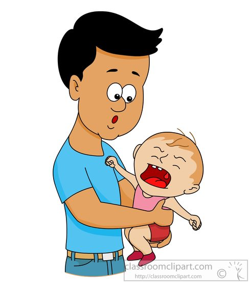 Parents Crying Clipart.